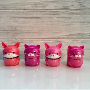 Magic Lipgloss Cats and Dogs 4pc